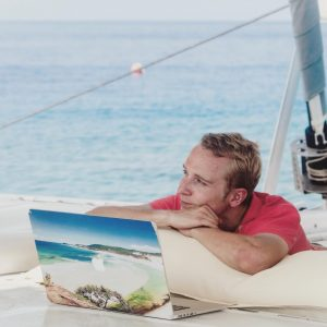 worklifebalance on this Aprils Coworking Sailing cruise coworking digitalnomad coworkingspacehellip