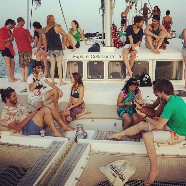 digitalnomads sunset sail with wecopass thecopassguy dnxglobal marcusmeurer95 traveliciahellip