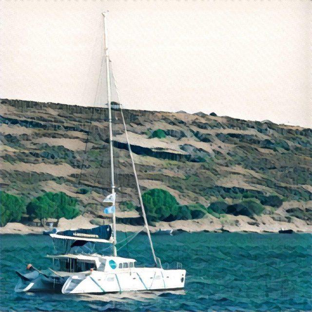 Coboat likes prismaapp prisma marcchagall coworking coworkation catamaran sailing yachthellip