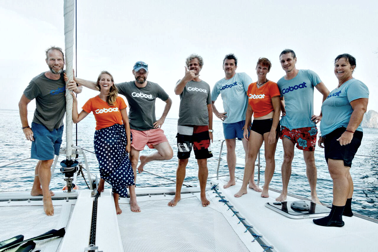 Join the coboat team and become a community manager and sail the world with us!