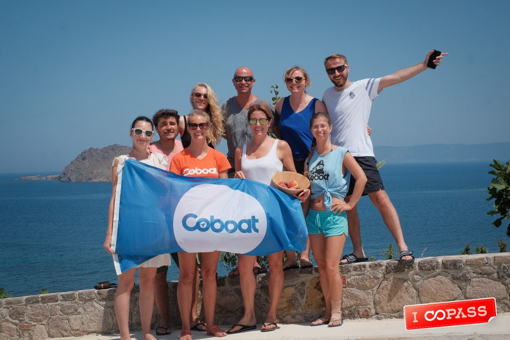 Coboaters Arrive at Bird's Bay, HQ of Digital Nomads Lesvos