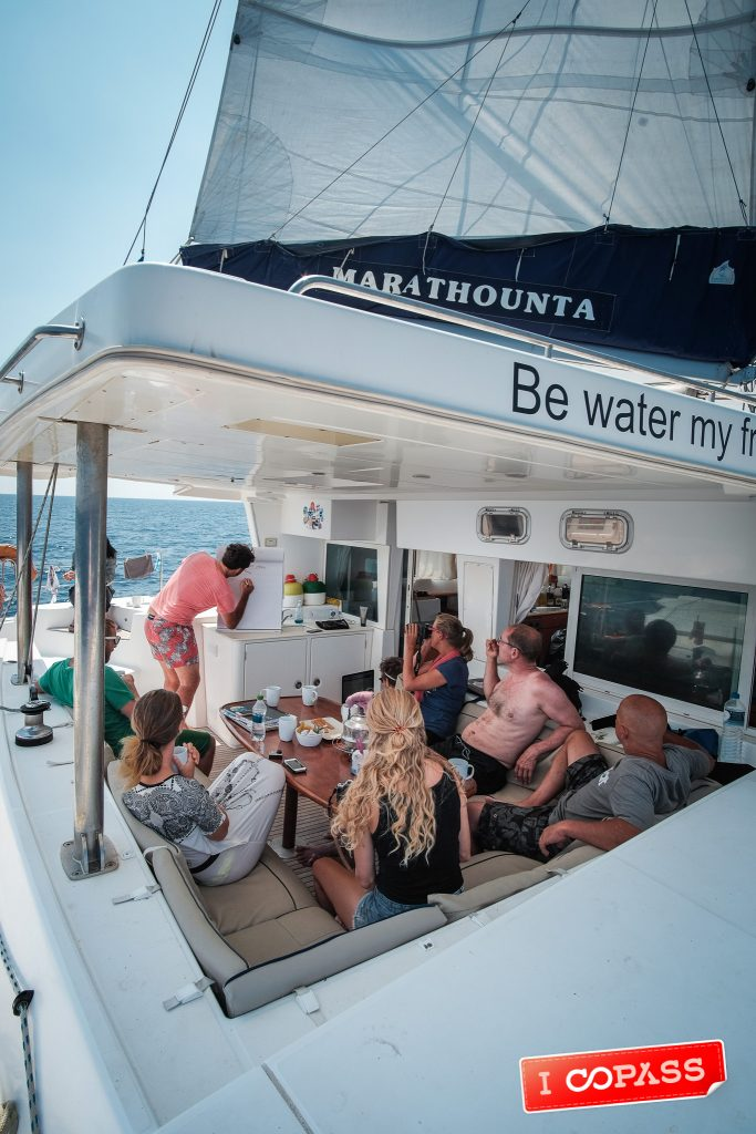 Eric Shares his photography knowledge in an onboard Skill Share