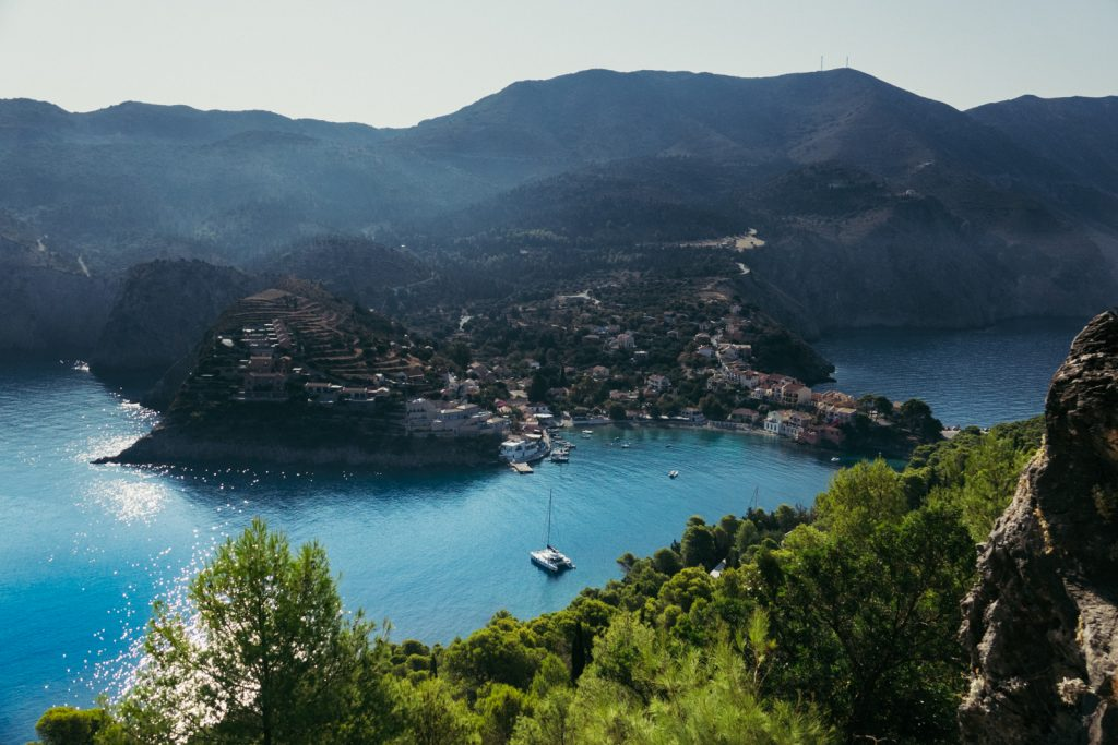 The beautiful Assos on Kefalonia